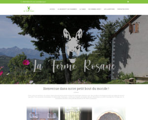 Réalisation Ferm Rosane Site web Ariège