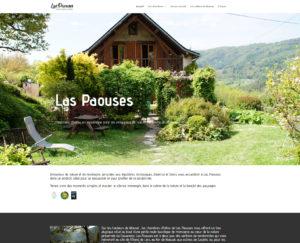 Web design Las Paouses Site web Ariège